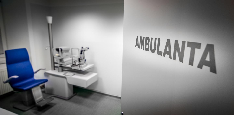 Okulistična ambulanta - Očesna ambulanta Postojna.