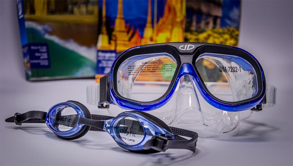 Plavalna očala in maske z dioptrijo, Optika Nadoh Postojna.
